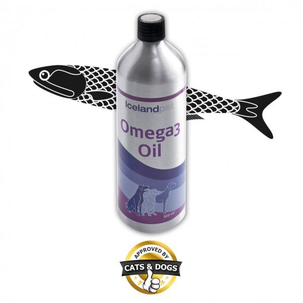 ICELAND PET Omega 3 Öl