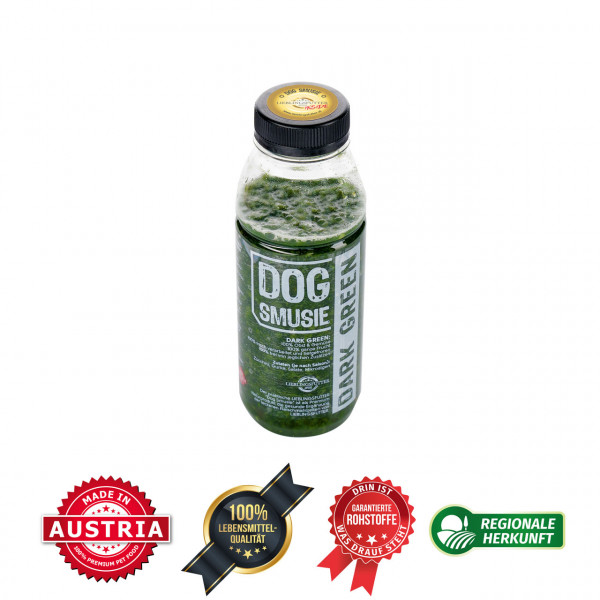 LIEBLINGSFUTTER Dog Smusie Dark Green